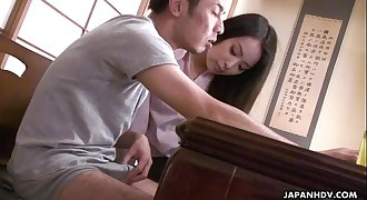 Sexy IT teacher getting fucked by the nerdy student