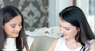 Very first time by Sapphic Erotica - Kittina Cox and Shrima Malati lesbians