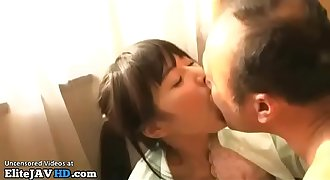 Japanese 18yo schoolgirl fucks old man - More at Elitejavhd.com