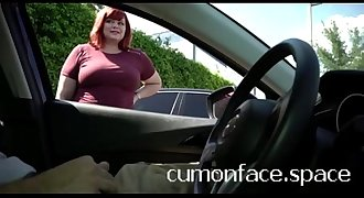 Flashing cock jerking off for redhead MILF in: http://tsimpoukiakaigamisia.online