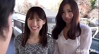 Japanese hot step mom and her friend total flick (scene 1)